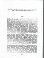Abdullah Sert Doç.Dr. Nevin Gül-karagüler Development of Enzyme