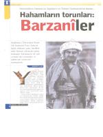 Barzanîler - Tarih Öğretmenlerine Kaynak etarih Portalı