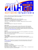Variant 5 Cup 2015