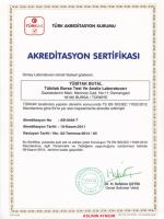 TS EN ISO/IEC 17025 Belgemiz