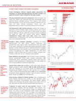 haftalık bülten - Akbank Yatırımcı