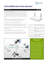 Aethra BG8542 Bulut Erişim Çözümleri