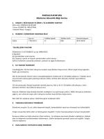 FINESULFUR 80 WG Malzeme Güvenlik Bilgi Formu