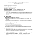 ÇEV 2006 MÜHENDİSLİK MATEMATİĞİ (3+0) (5 AKTS) 2013/14