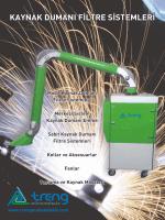 kaynak dumanı filtre sistemleri