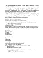 okul spor takımları çalışma takvimi