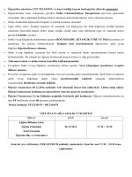 • Öğrenciler sınavlara, CEP TELEFONU ve kayıt özelliği taşıyan
