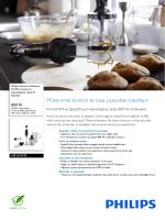 HR1674/90 Philips ProMix karıştırma teknolojisine sahip El blenderi