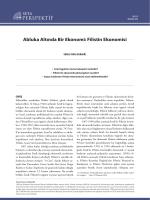 Abluka altında bir ekonomi Filistin ekonomisi[PDF]
