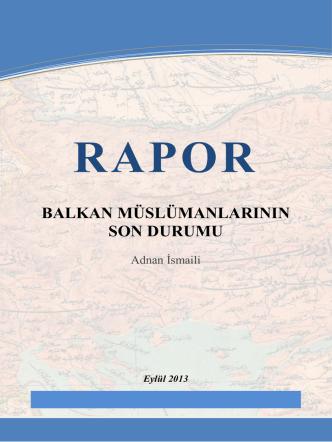 balkan müslümanlarının son durumu