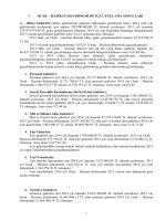 2013-2014 bütçe gelir-gider gelişim cetveli açıklaması