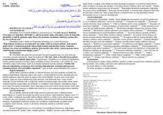 04.04.2014 - doğruluk ve sadaka
