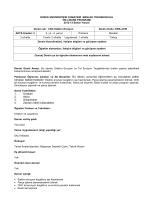 ders bilgileri - Düzce Üniversitesi Cumayeri Meslek Yüksekokulu