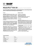 MasterRoc® HCA 20(Eski Adı DELVO® CRETE
