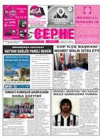 26.12.2014 Tarihli Cephe Gazetesi
