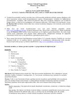 İnternet Tabanlı Programlama Dönem içi Proje Ödevi SOSYAL