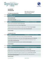 çalıştay programı - Mimarlık