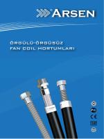 Fan Coil Hortumları - Arsen Endüstriyel Ürünler