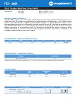 FCH 360 - Oerlikon Kaynak