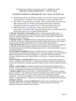 FKB,Matematik,Sosyal Bilimler,Yabancı Dil ,Yetenek Dersleri