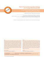 Negative Pressure Pulmonary Edema Following use of Laryngeal