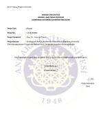 EK-11 Sonuç Raporu Formatı Proje Türü