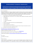 Ulusal Deprem Araştırma Programı 2014 Yılı Güdümlü Projeler
