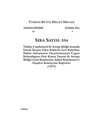 554 - Türkiye Büyük Millet Meclisi