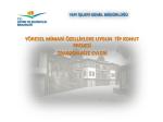 Trabzon ve Rize İllerine ait Yöresel Mimari Projeler