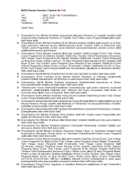 MAEÜ Senato Kararları (Toplantı No 220) Yer : SKS – Avşar Han