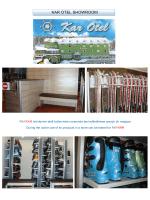 KAR OTEL SHOWROOM - Kar Kayak Sistemleri