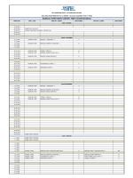 prep a exam schedule - SEV American College