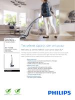 FC7070/01 Philips Elektrikli Süpürge ve Temizleme Sistemi