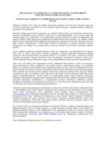 2013 Yılı Genel Kurul Toplantısı Ek-3