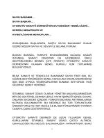 değerli misafirler ve - İstanbul Sanayi Odası
