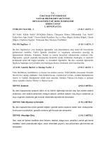 Odyoloji Ders İçerikleri - Sağlık Bilimleri Fakültesi