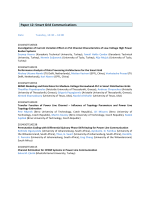 Paper 12: Smart Grid Communications