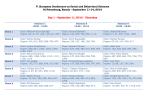 V. European Conference on Social and Behavioral Sciences St