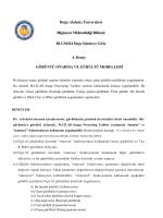 Doğu Akdeniz Üniversitesi Bilgisayar Mühendisliği Bölümü