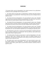 exercıses - CENG111