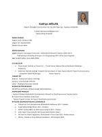 Kadriye ARSLAN - PlaceHolder for imoistanbul.org