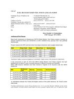 Global Medium Term Notes programı dahilinde ihraç belgesi