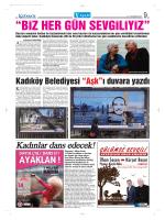 """Kadıköy Belediyesi """"Aşk""""ı duvara yazdı"""