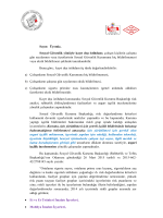 sosyal güvenlik kurumu 2015 yılı asgari işçilik incelemeleri hk.