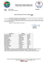 28-30 Mart 2015 Yıldızlar Okul -Ağrı