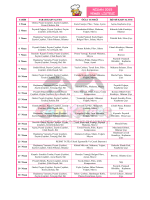 MART 2015 YEMEK LİSTESİ - Cankardes