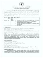 Pamukkale Üniversitesi Sözleşmeli Sağlık Personeli