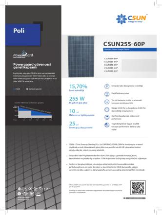CSUN255-60p poli