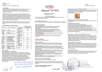 Altacor® 35 WG