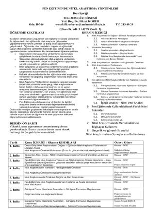 course outline-FenEğtNitelAraştırmaYön